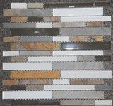 Mozaiek Wit Glas-Nature Stone 30x30_