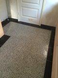 Granito - Terazzo 40x40x1.5  Black 11037_